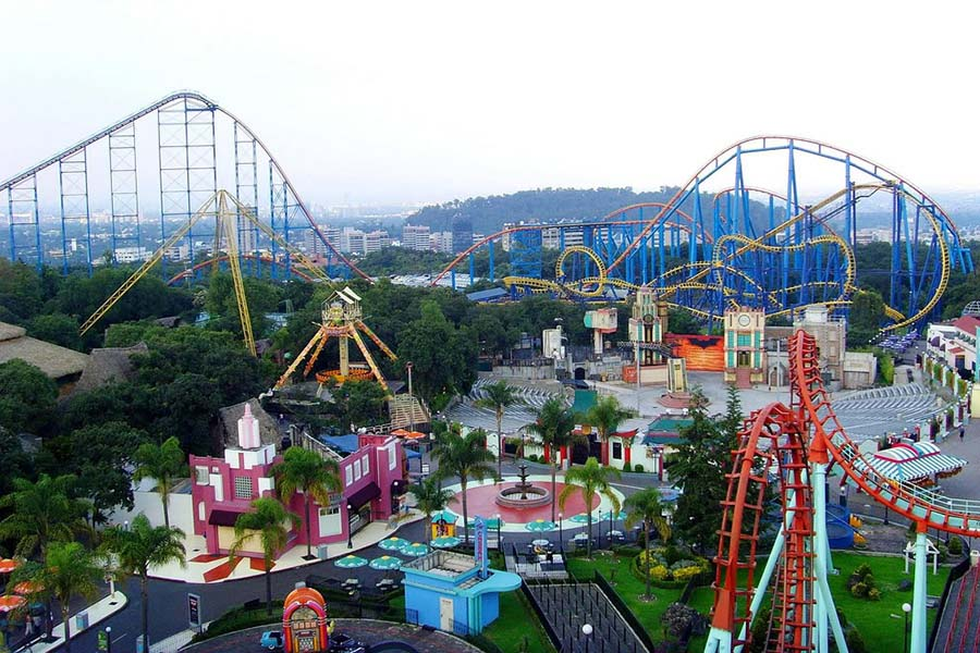 six flag mexico